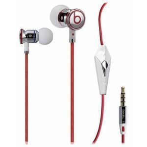 Beats By Dr Dre iBeats Earbud Noise-Cancelling Earphones - Red/White