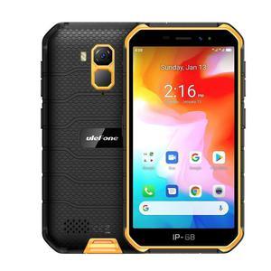 Ulefone Armor X7 16GB Dual Sim - Musta/Oranssi - Lukitsematon