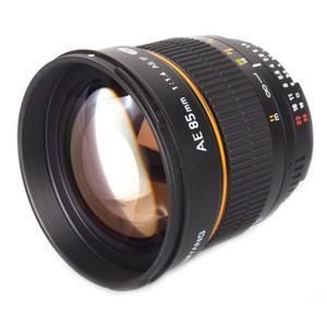 Objectif Samyang 85mm f / 1.4 AS IF UMC - Monture Nikon - Noir