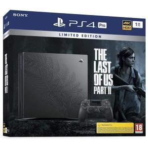 Sony Playstation 4 Pro Edition The Last Of Us Part II 1 To + Manette DualShock 4 - Noir