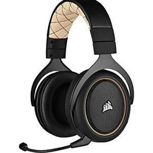 Casque Réducteur de Bruit Gaming Bluetooth avec Micro Corsair HS70 PRO Wireless - Noir