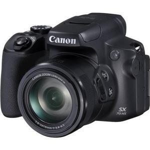 Bridge Camera Canon PowerShot SX70 HS Zwart + Lens Canon Zoom Lens 21-1365 mm f/3.4-6.5 IS