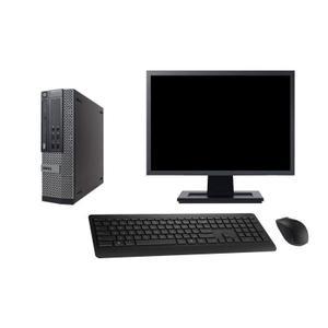 """Dell Optiplex 790 SFF 27"""" Pentium 2,7 GHz - SSD 960 GB - 4GB"""