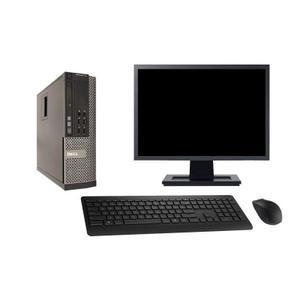 """Dell Optiplex 790 SFF 19"""" Core i7 3,4 GHz - HDD 2 To - 4GB"""