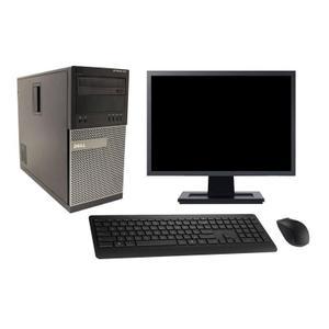 """Dell OptiPlex 790 MT 19"""" Core i7 3,4 GHz  - SSD 480 Go - 4GB"""