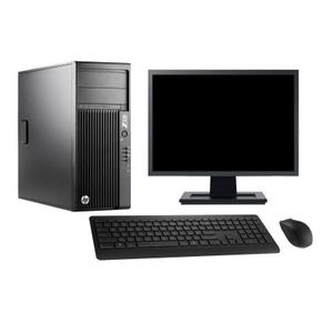 "Hp WorkStation Z230 MT 19"" Core i7 3,4 GHz - SSD 960 Go - 8 Go"