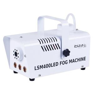 Machine à Fumée Ibiza LSM400LED - White