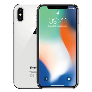 iPhone X 64GB   - Argento