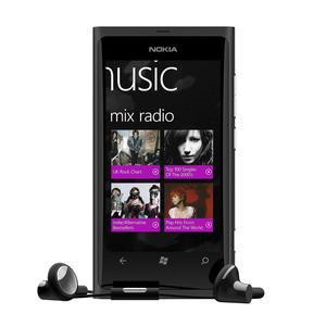 Nokia Lumia 800 16 Gb   - Schwarz - Ohne Vertrag
