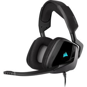 Kopfhörer Gaming mit Mikrophon Corsair Void RGB Elite - Schwarz