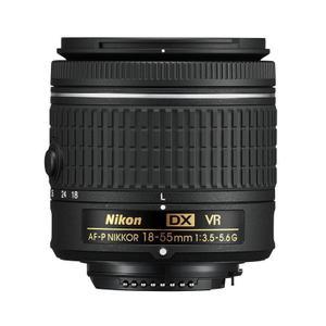 Objetivo Nikon F(DX) AF-P DX Nikkor 18-55mm f/3.5-5.6G - Negro