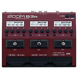 Multi effets pour basse Zoom B3N
