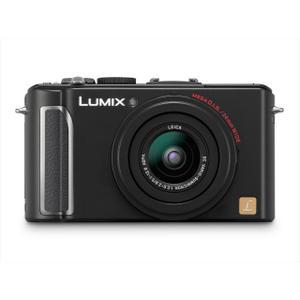 Panasonic Lumix DMC-LX3 Kompakt Kamera Schwarz + Objektiv Leica 51-12.8mm f/2-2.8