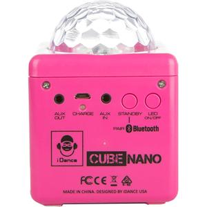 Enceinte Bluetooth Idance CN-1 - Rose