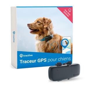 Rastreador Tractive GPS para perros, Seguimiento de actividad, Peso ligero, Impermeable, Alcance ilimitado, Collar GPS para perros
