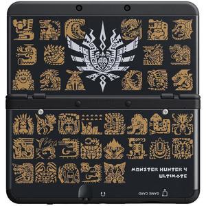 Nintendo New 3DS Edition Monster Hunter 4 Ultimate 4 Go - Noir