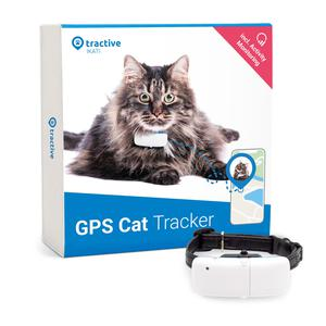 Collar GPS para gatos de Tractive - rastreo de ubicación y seguimiento de actividad