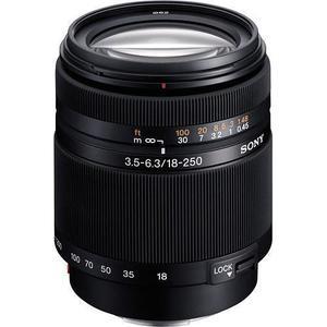 Objectif Sony A 18-250 mm f/3,5-6,3 - Noir