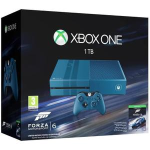 Console Microsoft Xbox One 1 To Edition Limitée + Forza Motorsport 6 - Bleu