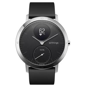 Montre connectée Withings Steel HR 40mm - Noir/Gris
