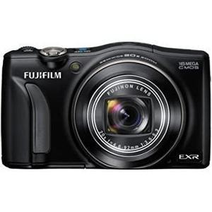 Kompaktkamera Fujifilm Finepix F800EXR Schwarz + Objektiv Fujinon Wide 20x Zoom 25-500 mm f/3.5-5.3