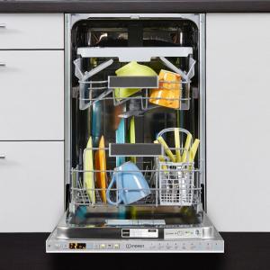 Lave-vaisselle encastrable 45 cm Indesit DSIO3T224CE - 10 Couverts
