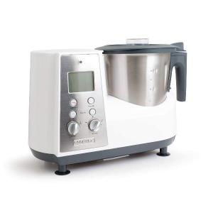 Multifunktions-Küchenmaschine COOK'ART Le Faitout Weiß/Grau