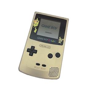 Konsole Nintendo Game Boy Color Limitierte Auflage Pokémon Gold - Gold