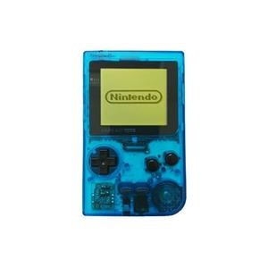 Nintendo Gameboy Pocket - Bleu Transparent