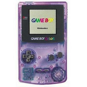 Console Nintendo Game Boy Color - Violet transparent