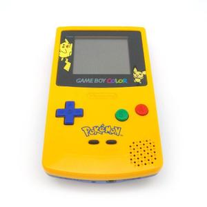 Nintendo Game Boy Color - Edition spéciale Pikachu Pokémon