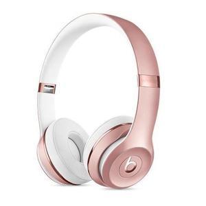 Kopfhörer Bluetooth mit Mikrophon Beats By Dr. Dre Solo 3 - Roségold