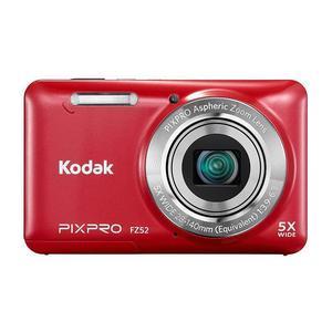 Compactcamera Kodak PixPro CZ52 Rood + Lens Kodak PixPro Aspheric Zoom 28-140mm f/3.9-6.3