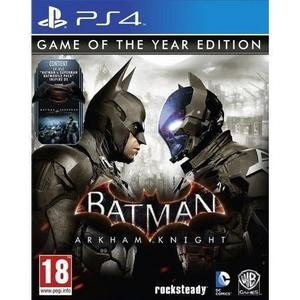 Batman Arkham Knight Game of the Year Edition - PlayStation 4