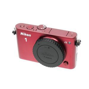 Hybride Nikon 1 J3 Boîtier Nu - Rouge