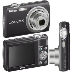 Cámara compacta Nikon Coolpix S203 - Negro