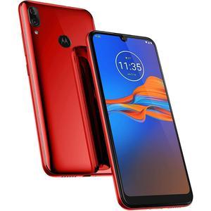 Motorola Moto E6 Plus 64 GB (Dual Sim) - Red - Unlocked