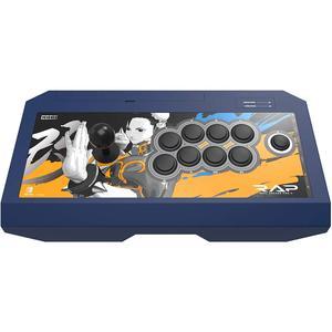 Controller Hori Real Arcade Pro V Street Fighter Chun-li Edition voor Nintendo Switch - Blauw