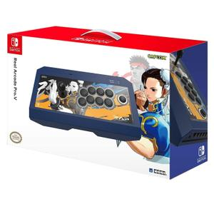 Borne d'arcade Nintendo Switch real arcade pro V street fighter - chun-li edition