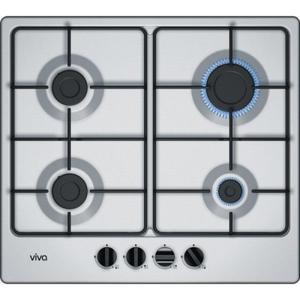 Table de cuisson - Gaz 4 foyers - Viva VVG6B3P50F