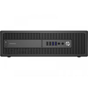 Hp EliteDesk 800 G1 SFF Core i5 3,2 GHz - SSD 240 GB + HDD 500 GB RAM 32 GB