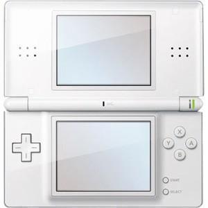 Nintendo DS Lite -pelikonsoli - Valkoinen