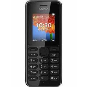 Nokia 108 - Nero- Compatibile Con Tutti Gli Operatori