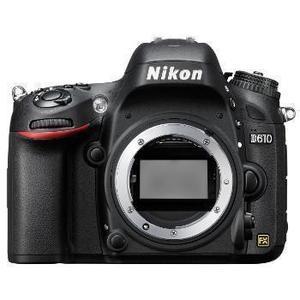 Cámara réflex Nikon D610 + objetivo Nikon AF-S Nikkor 50 mm f/1.8G - Negro
