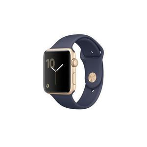 Apple Watch (Series 2) 42 - Aluminium Gold - Sport loop Midnight blue