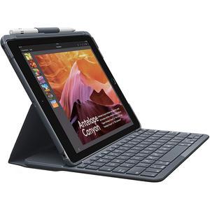 Clavier Bluetooth Logitech Slim Folio pour iPad (5e et 6e générations) - QWERTY