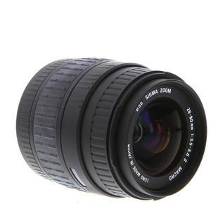 Objectif Sigma 28-80 mm f/3.5-5.6 II - Monture Canon - Noir