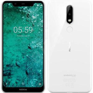 Nokia 5.1 Plus 32 Go Dual Sim - Blanc - Débloqué