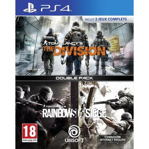 Tom Clancy's Rainbow Six Siege + Tom Clancy's The Division - PlayStation 4
