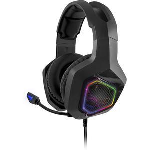 Kopfhörer Rauschunterdrückung Gaming mit Mikrophon Spirit Of Gamer Elite-H50 - Schwarz